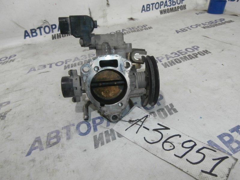 Заслонка дроссельная Toyota Avensis Verso AZT250 2AZFE (б/у)