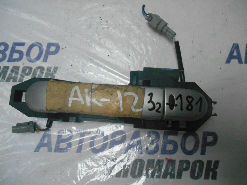 Ручка двери внешняя Nissan Note E11 передняя левая (б/у)
