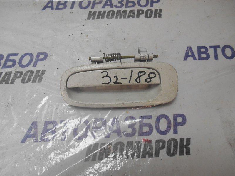 Ручка двери внешняя Toyota Sprinter AE111 задняя левая (б/у)