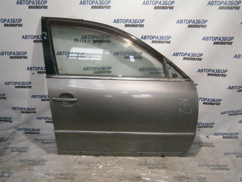 Дверь передняя правая Volkswagen Passat B5 передняя правая (б/у)