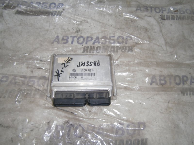 Блок управления двигателем Volkswagen Passat B5 AWM передний (б/у)