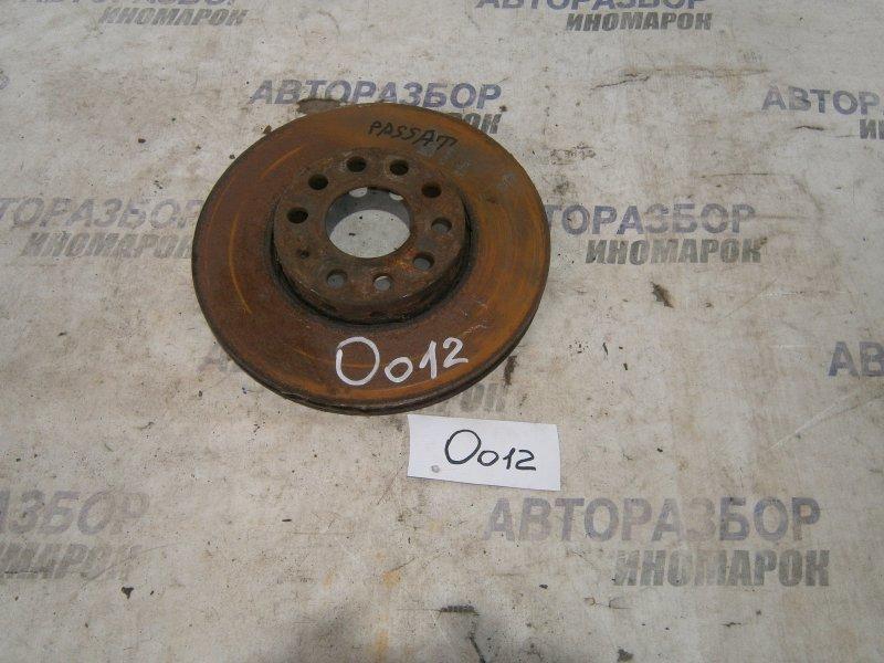 Диск тормозной передний Skoda Passat 3B2 1Z передний нижний (б/у)