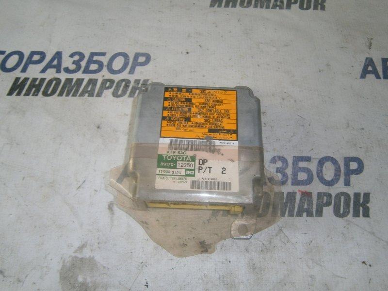 Блок управления airbag Toyota Allex NZE121 1NZFE (б/у)