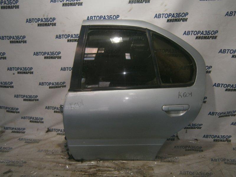 Дверь задняя левая Nissan Primera FHP10 CD20 задняя левая (б/у)