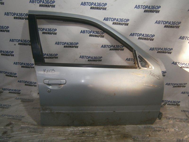 Дверь передняя правая Nissan Primera FHP10 CD20 передняя правая (б/у)
