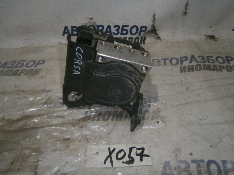 Блок abs Opel Corsa D A10XEP передний (б/у)