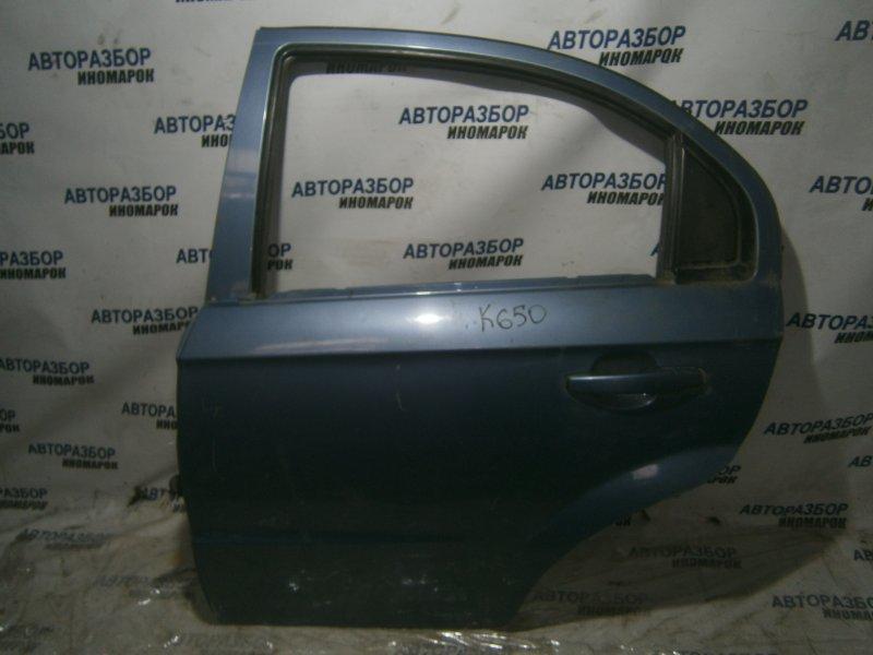 Дверь задняя левая Chevrolet Aveo T250 задняя левая (б/у)