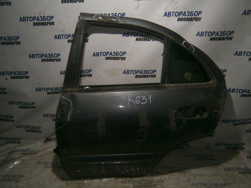 Дверь задняя левая Nissan Almera N16 задняя левая (б/у)