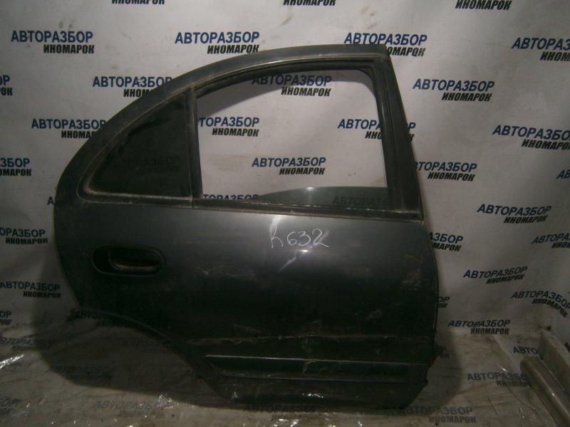 Дверь задняя правая Nissan Almera N16 задняя правая (б/у)