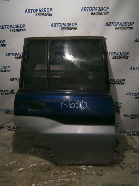 Дверь задняя правая Mitsubishi Pajero Io H71W задняя правая (б/у)