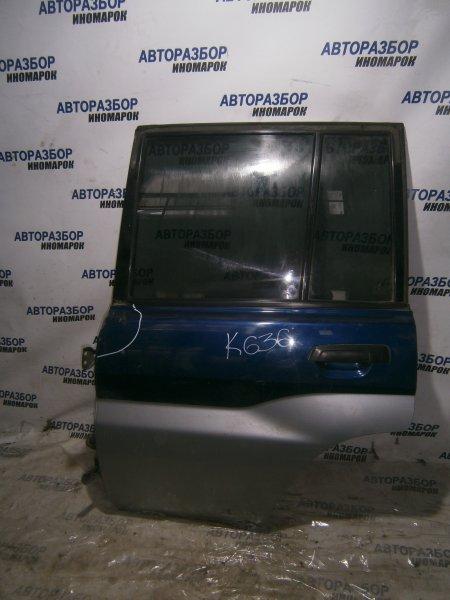 Дверь задняя левая Mitsubishi Pajero Io H71W задняя левая (б/у)