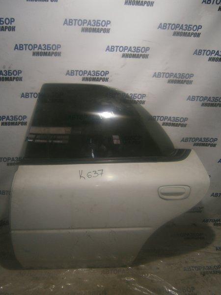 Дверь задняя левая Subaru Impreza GC1 задняя левая (б/у)