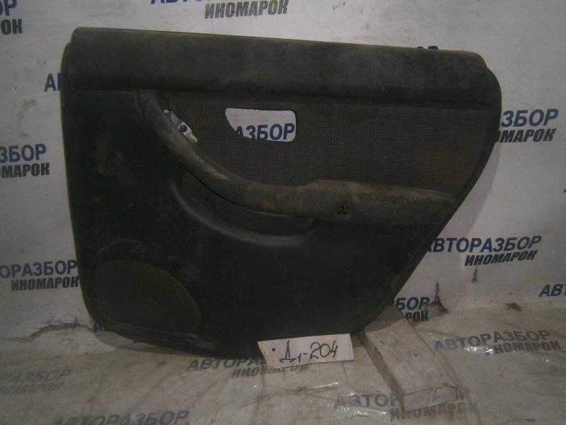 Обшивка двери задней правой Subaru Legacy BR5 задняя правая (б/у)