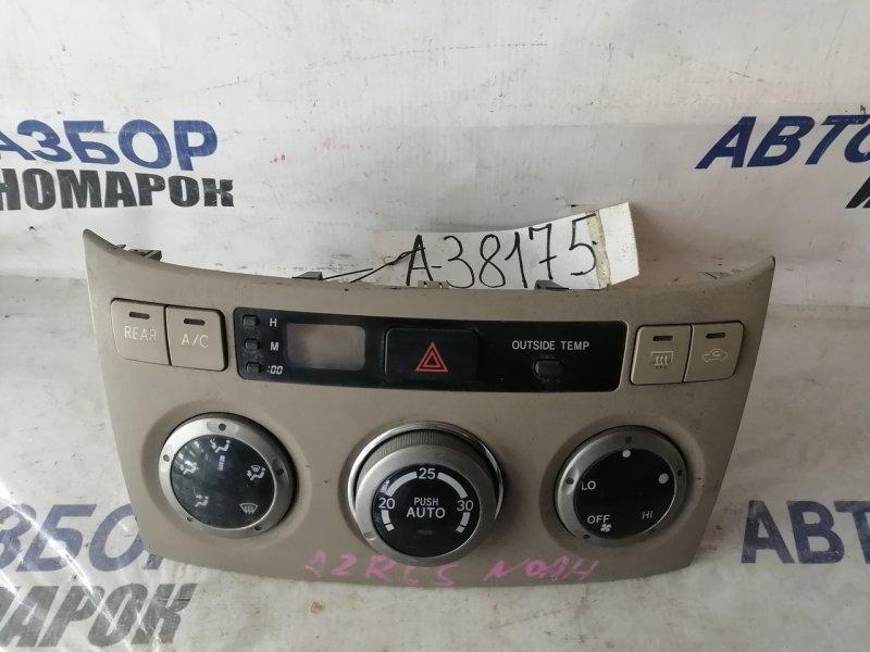 Блок управления климат-контролем Toyota Noah AZR60 (б/у)