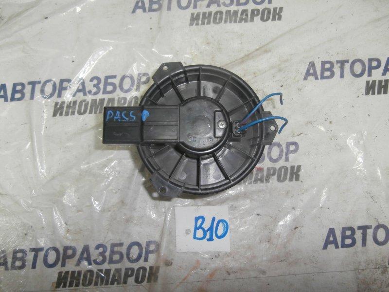 Мотор печки Toyota Passo KGC10 1KRFE передний (б/у)