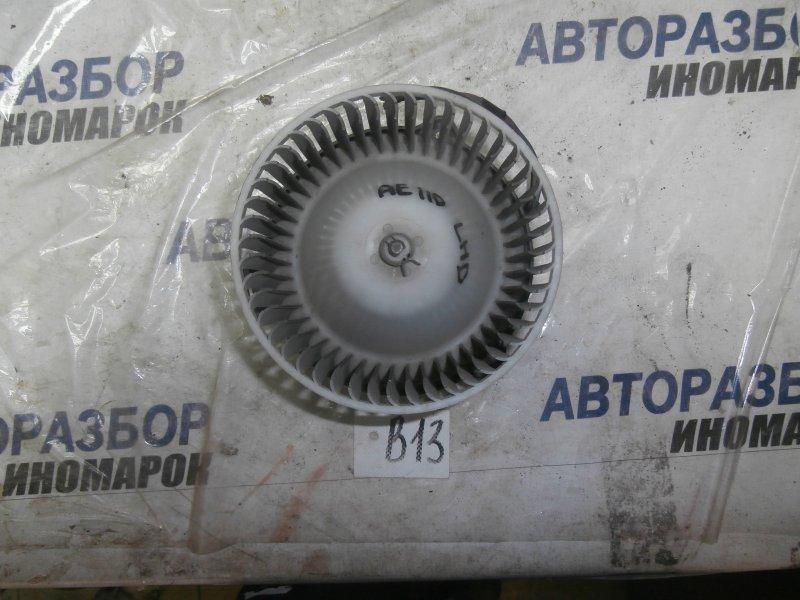 Мотор печки Toyota Corolla Ceres AE100 передний (б/у)