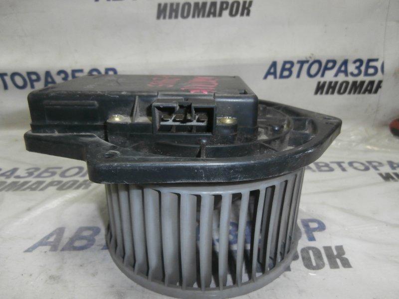 Мотор печки Mitsubishi Airtrek H61W передний (б/у)