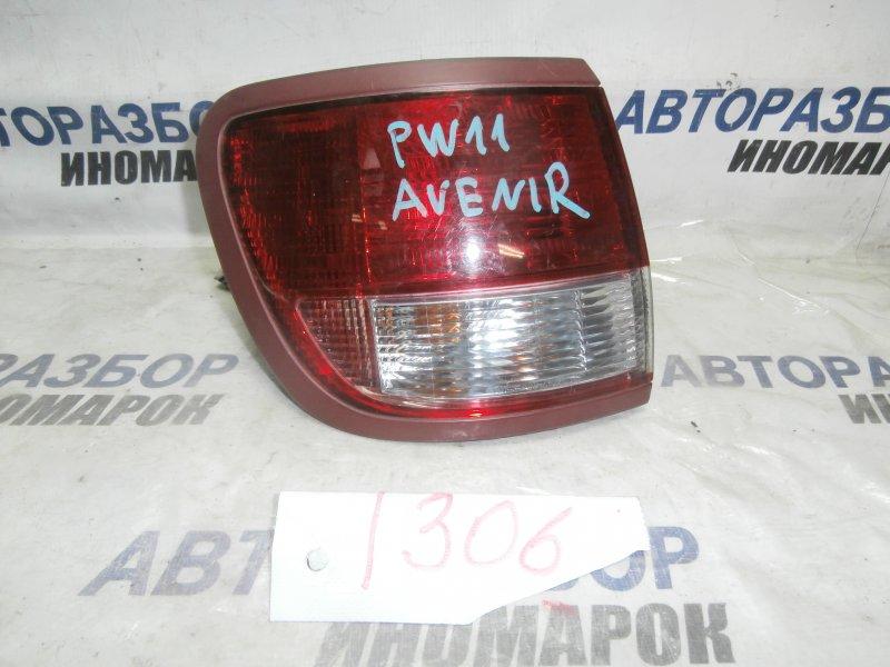 Фонарь задний левый Nissan Avenir PNW11 задний левый (б/у)