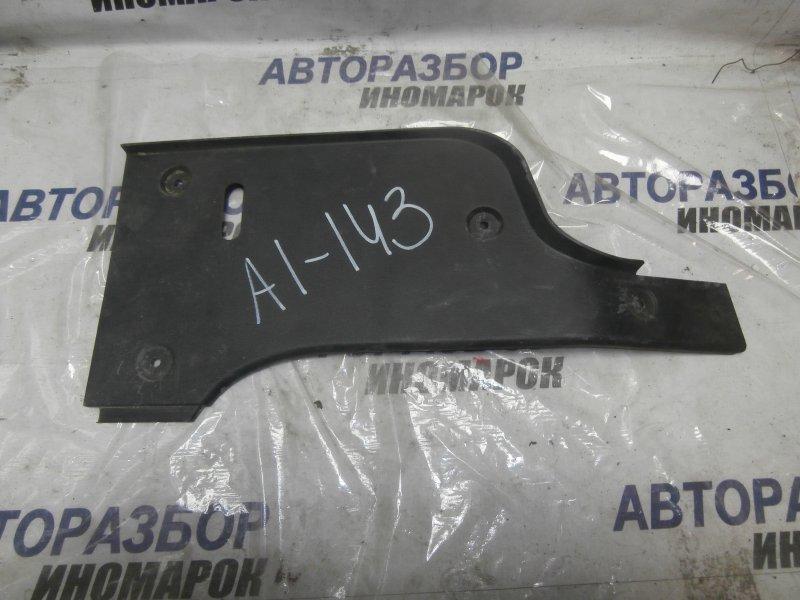 Обшивка багажника Chevrolet Aveo T250 B12D1 задняя (б/у)