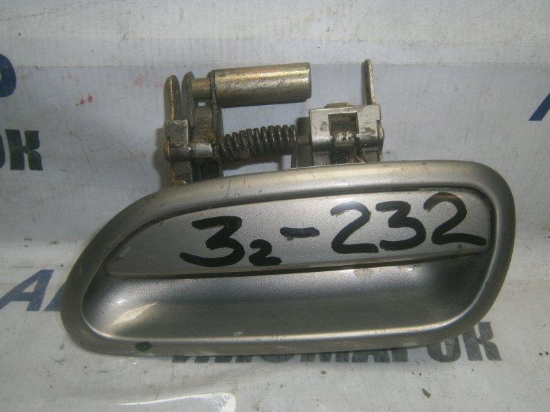 Ручка двери внешняя Subaru Impreza GC1 задняя левая (б/у)