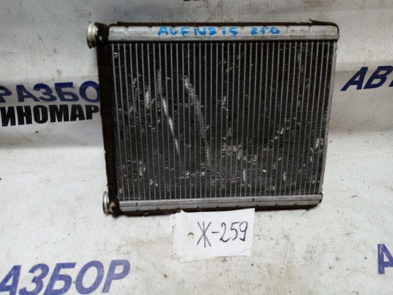 Радиатор печки Toyota Avensis AUR10 передний (б/у)