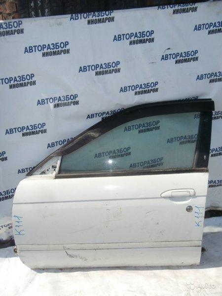 Дверь передняя левая Nissan Avenir PNW11 передняя левая (б/у)