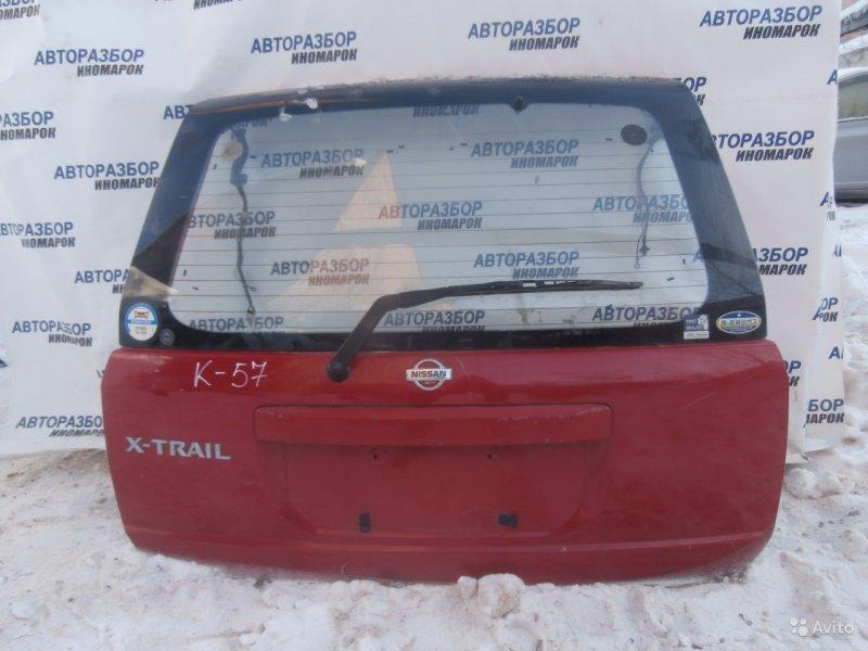 Дверь багажника Nissan X-Trail NT30 задняя верхняя (б/у)