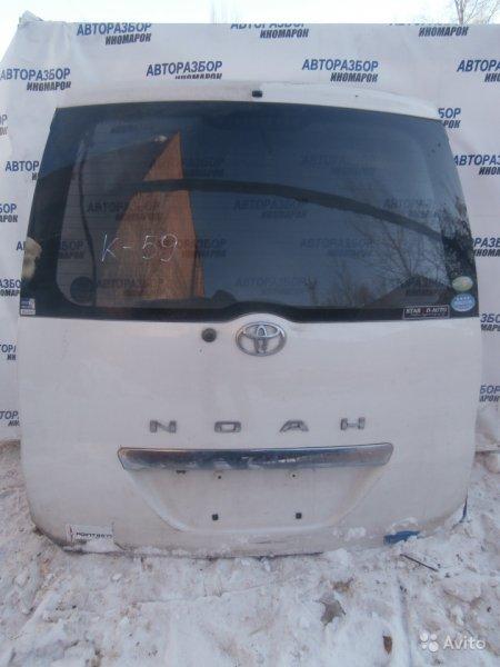 Дверь багажника Toyota Voxy AZR60G задняя (б/у)