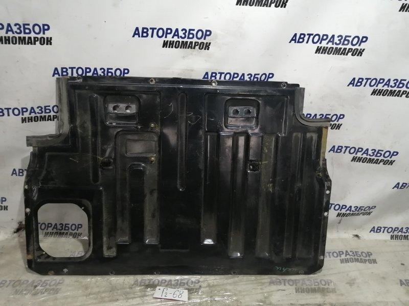 Защита топливного бака Chevrolet Niva 21236 нижняя (б/у)