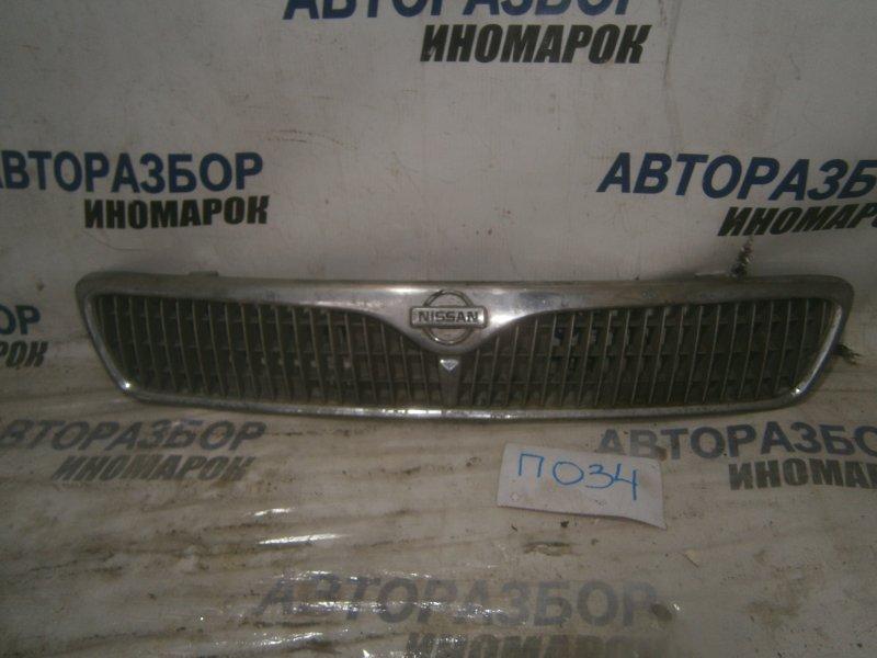 Решетка радиатора Nissan Primera Camino HNP11 QG18DD передняя (б/у)