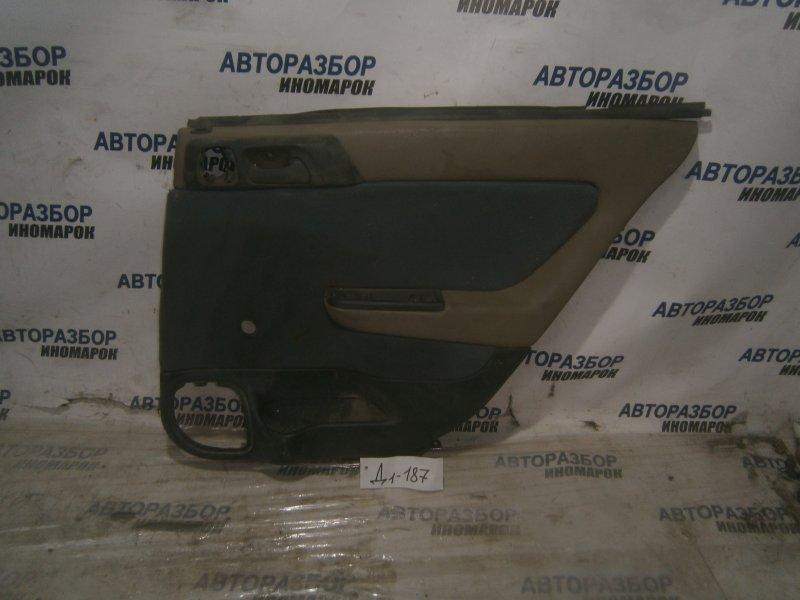 Обшивка двери задней правой Chevrolet Viva F69 задняя правая (б/у)