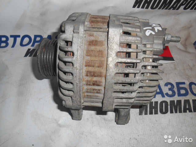 Генератор Nissan Micra C+C E11E HR16DE передний (б/у)
