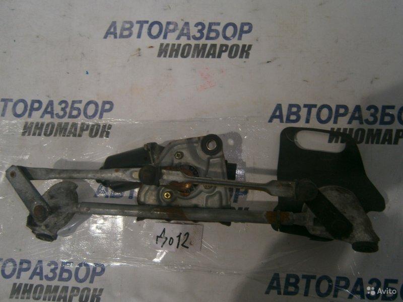 Трапеция дворников (мотор стеклоочистителя) Toyota Echo NCP70 передняя (б/у)