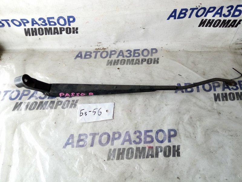 Поводок стеклоочистителя передний правый Toyota Passo KGC10 передний правый (б/у)
