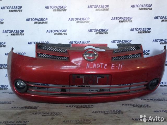 Бампер передний Nissan Note E11 передний (б/у)