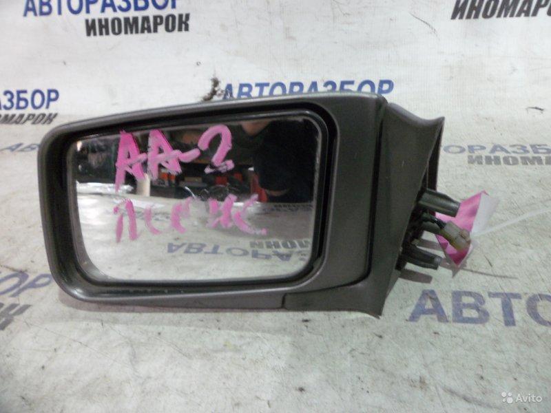 Зеркало левое Subaru Leone AA2 переднее левое (б/у)