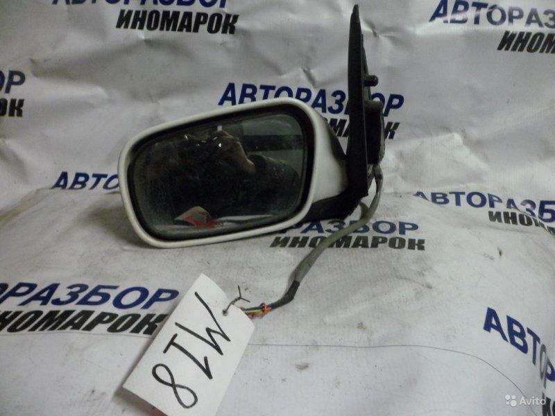 Зеркало левое Nissan Cube ANZ10 переднее левое (б/у)