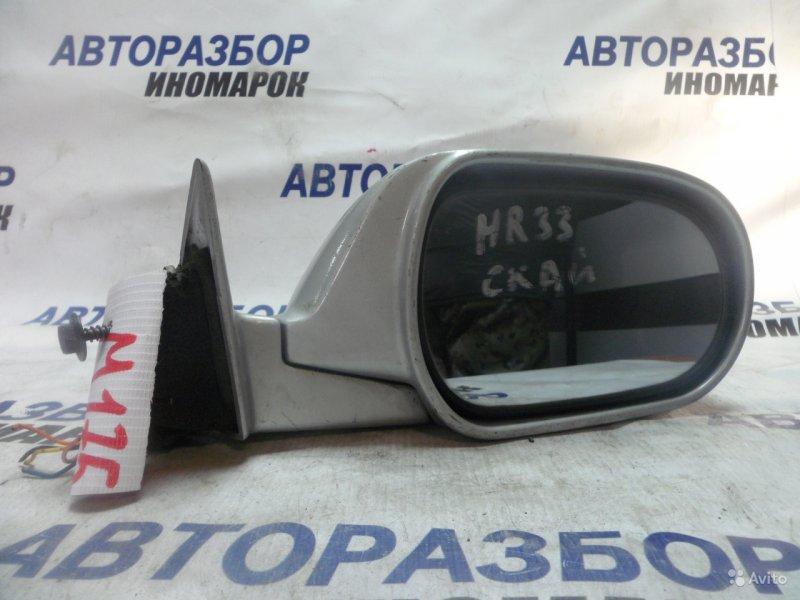 Зеркало правое Nissan Skyline ECR33 переднее правое (б/у)