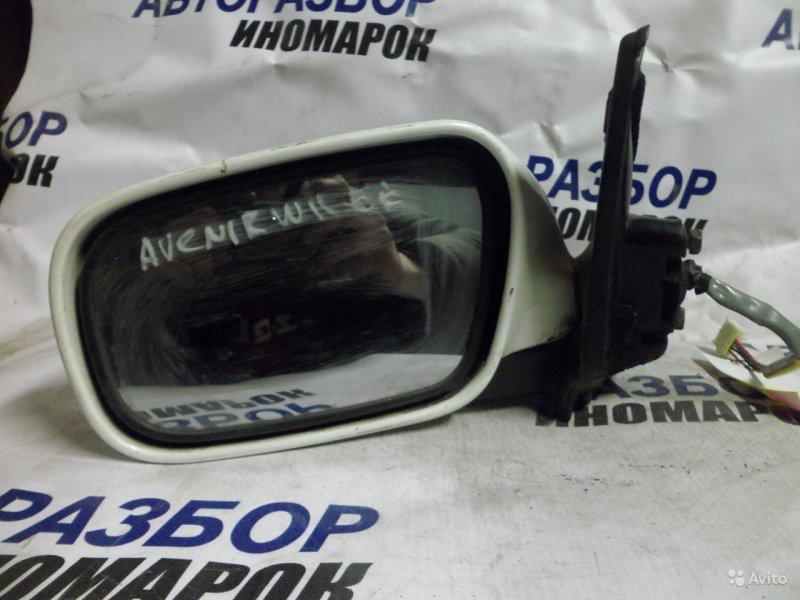 Зеркало левое Nissan Avenir VENW11 переднее левое (б/у)