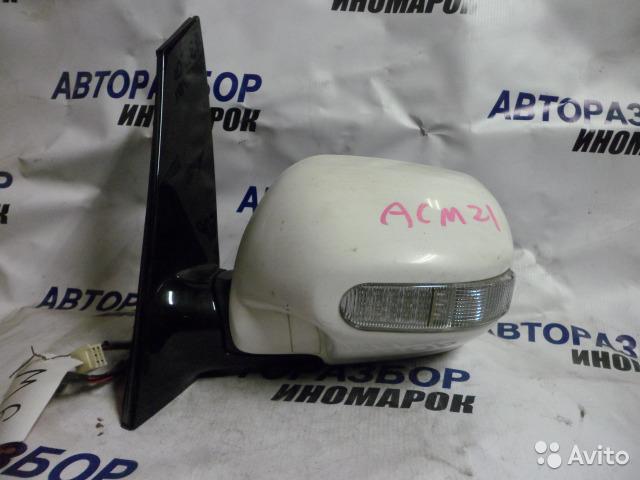 Зеркало левое Toyota Ipsum ACM21 переднее левое (б/у)