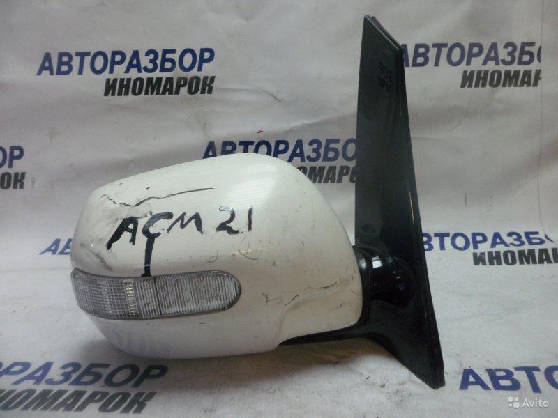 Зеркало правое Toyota Ipsum ACM21 переднее правое (б/у)