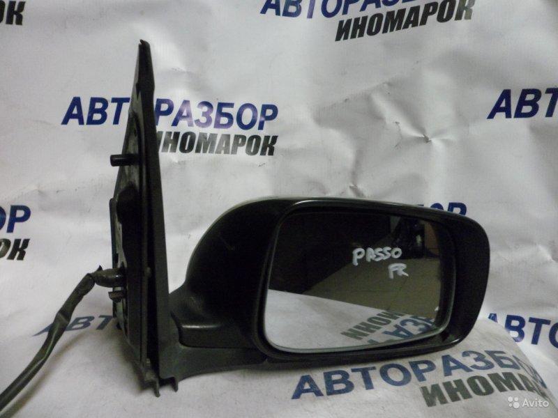 Зеркало правое Toyota Boon M300S переднее правое (б/у)