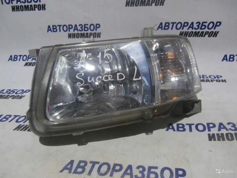 Фара передняя левая Toyota Succeed NCP50 передняя левая (б/у)