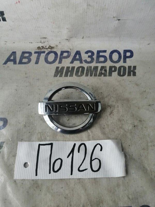 Эмблема Nissan Avenir PNW11 (б/у)