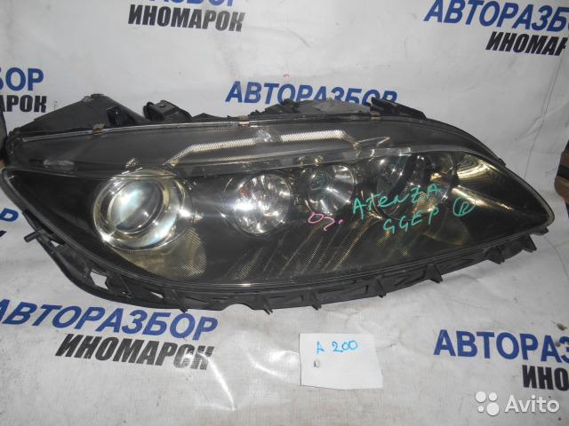 Фара передняя правая Mazda Atenza GG3P передняя правая (б/у)