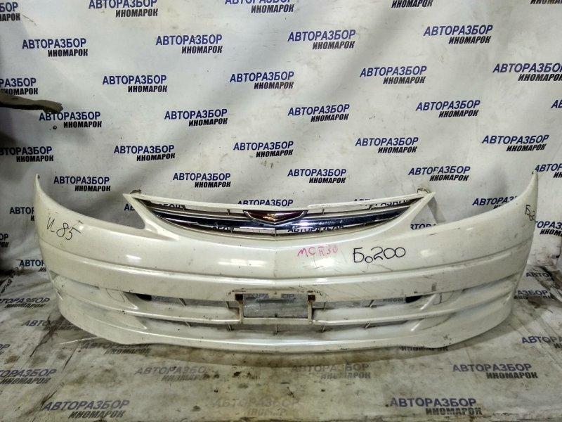Бампер передний Toyota Estima ACR30W передний (б/у)