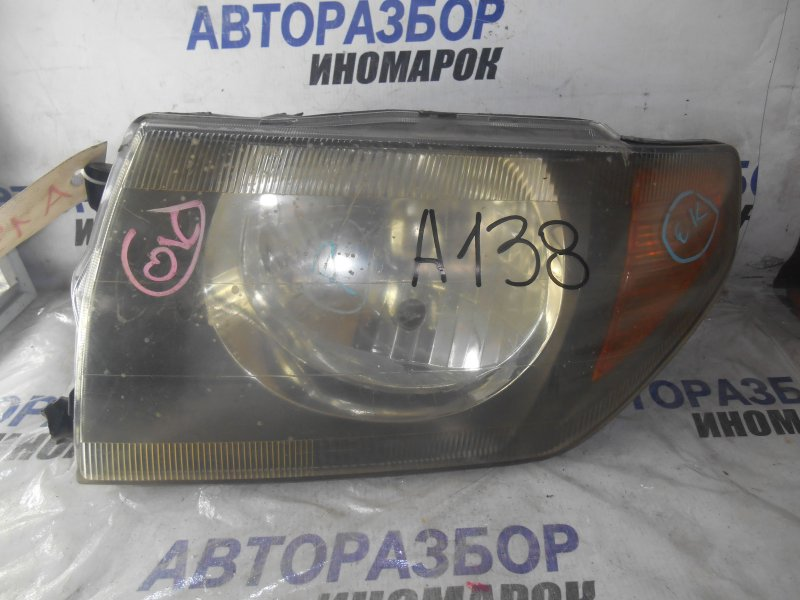 Фара передняя левая Mitsubishi Pajero Pinin H61W передняя левая (б/у)