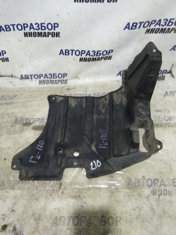 Защита двигателя Toyota Caldina AT191 передняя левая нижняя (б/у)