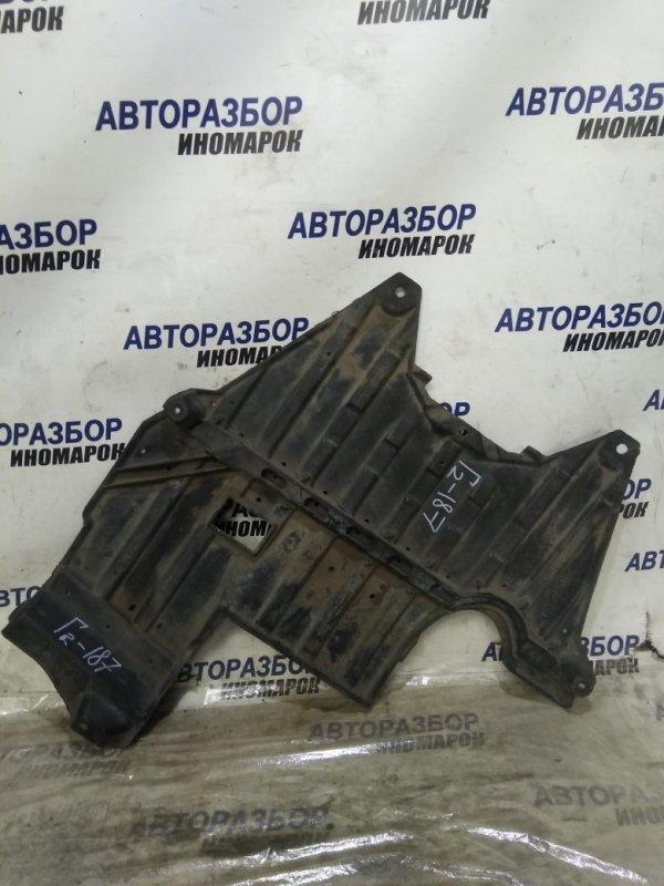 Защита двигателя Toyota Mark Ii Wagon Blit JZX110 задняя нижняя (б/у)