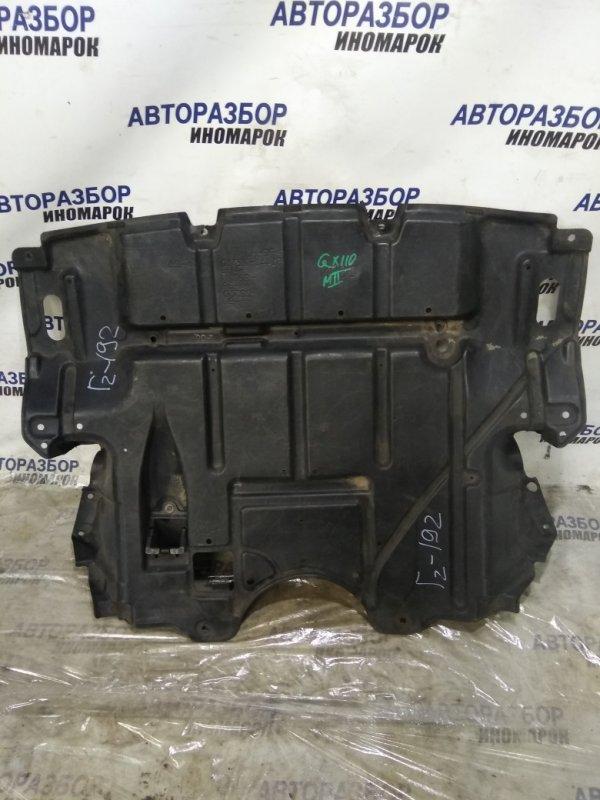 Защита двигателя Toyota Mark Ii Wagon Blit JZX110 передняя нижняя (б/у)